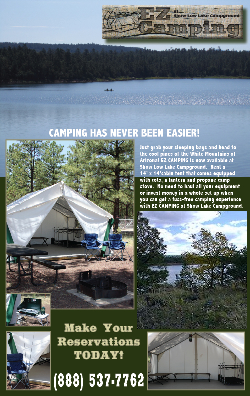 EZ Camping at Show Low Lake Campground
